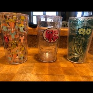 Set of 3 tervis tumblers